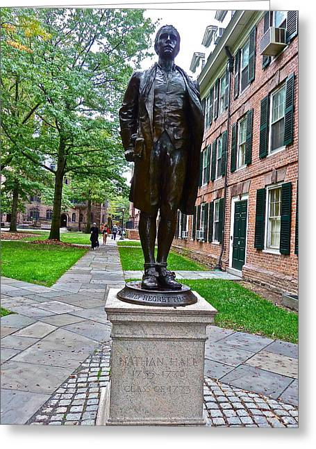 Nathan Hale Greeting Card
