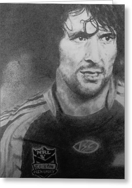 Nathan Hindmarsh Greeting Card by Kate R