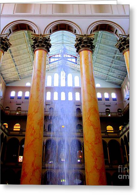 National Building Museum 3 Greeting Card