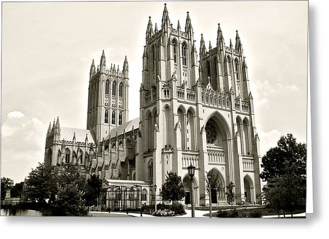 National Cathedral In Washington Dc Greeting Card