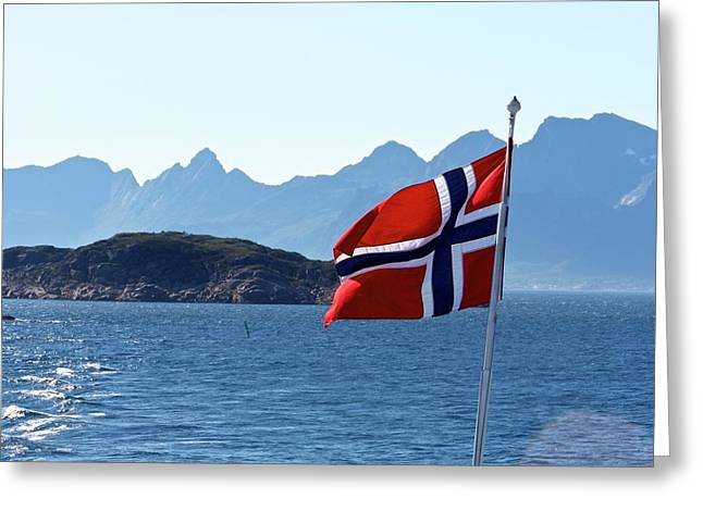 National Day Of Norway In May Greeting Card