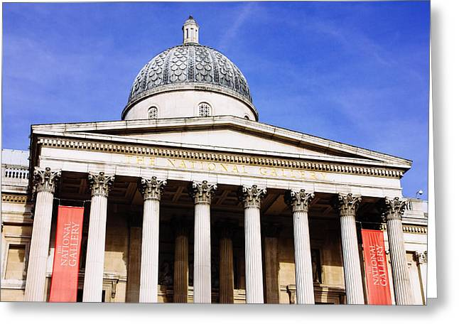 National Gallery Greeting Card by Pati Photography