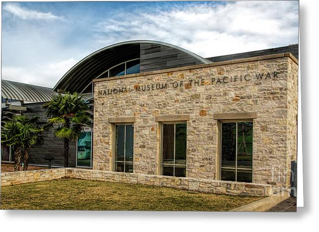National Museum Of The Pacific War Greeting Card by Jon Burch Photography