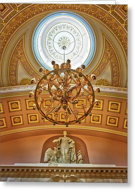 National Statuary Hall Washington Dc Greeting Card