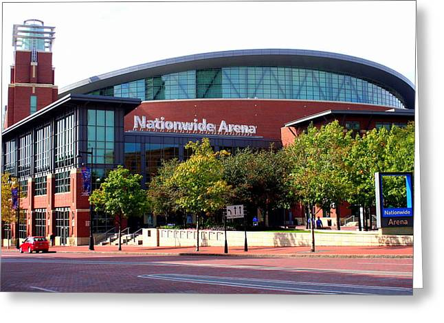 Nationwide Arena Greeting Card