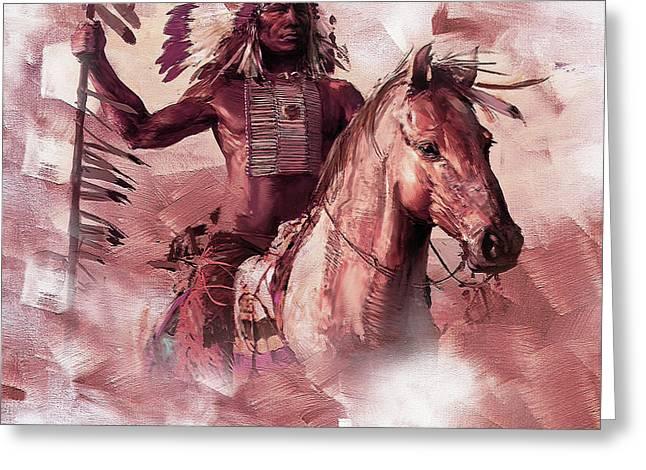 Native American 00932 Greeting Card