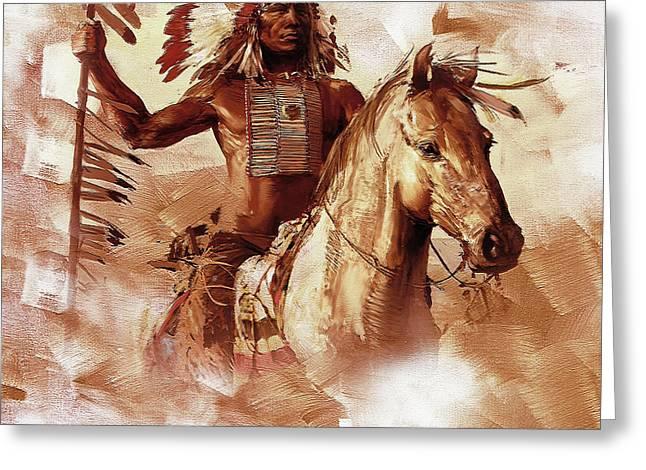 Native American 093201 Greeting Card