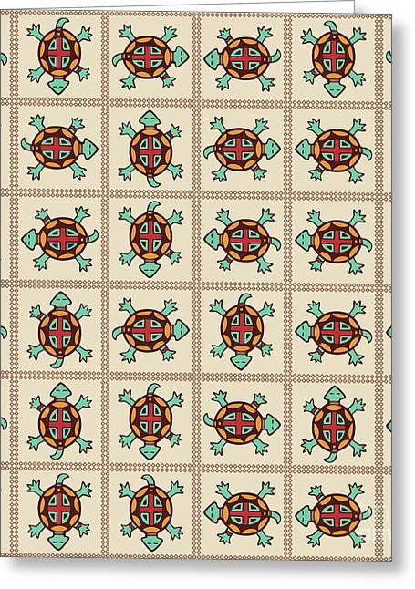 Native American Pattern Greeting Card