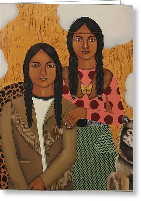 Native American's Were Never Immigrants Greeting Card
