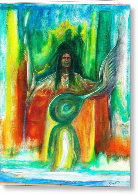 Native Awakenings Greeting Card