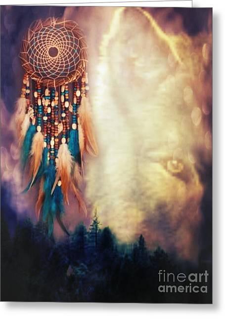 Native Lands Greeting Card