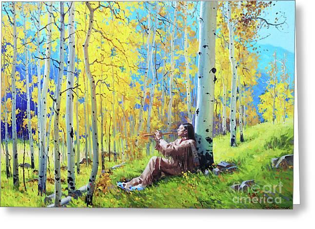 Native Spirit Greeting Card