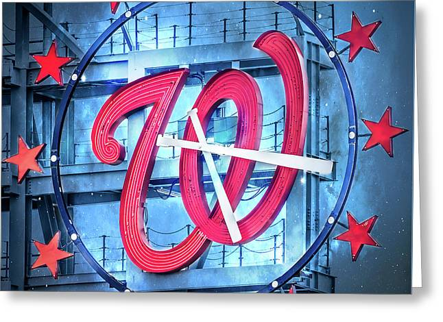 Nats Time Greeting Card
