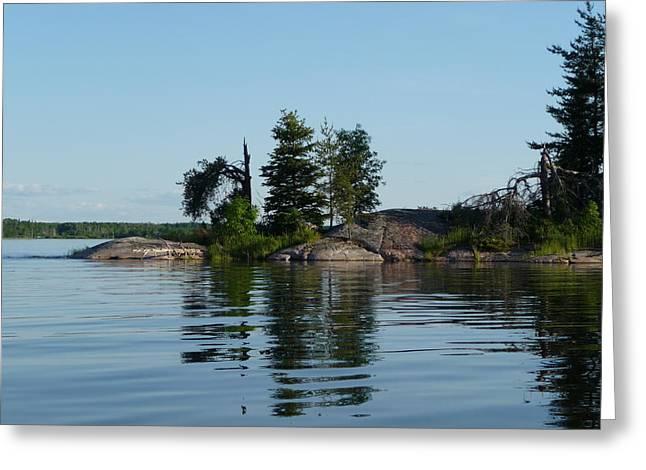 Natural Breakwater Greeting Card