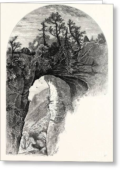 Natural Bridge, Virginia Greeting Card