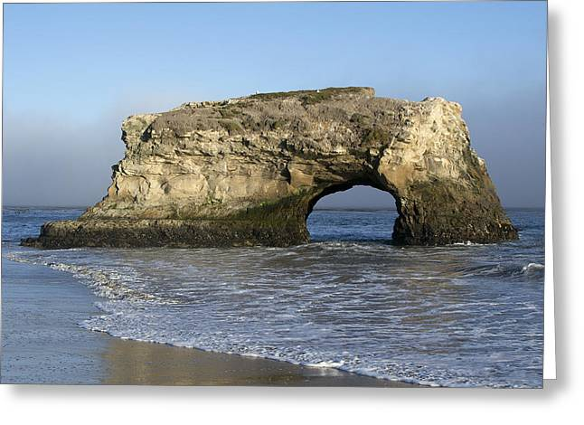 Natural Bridges State Park - Santa Cruz - California Greeting Card by Brendan Reals
