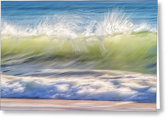 Natural Chaos, Quinns Beach Greeting Card