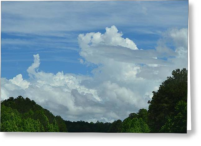 Natural Clouds Greeting Card