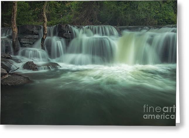 Natural Dam Greeting Card
