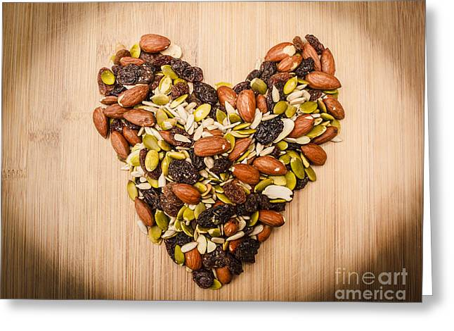 Natural Ingredients Love Greeting Card by Jorgo Photography - Wall Art Gallery