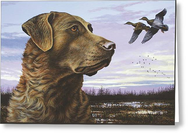 Natural Instinct - Chessie Greeting Card