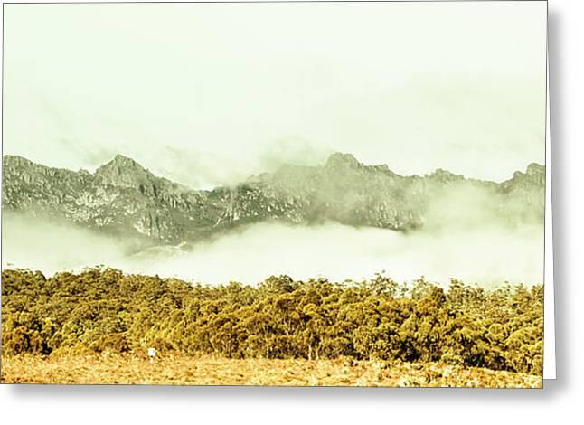 Natural Mountain Beauty Greeting Card