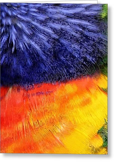 Natural Painter Greeting Card