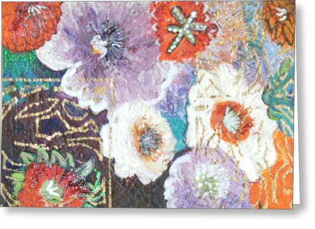Naturally Rich Greeting Card by Anne-Elizabeth Whiteway