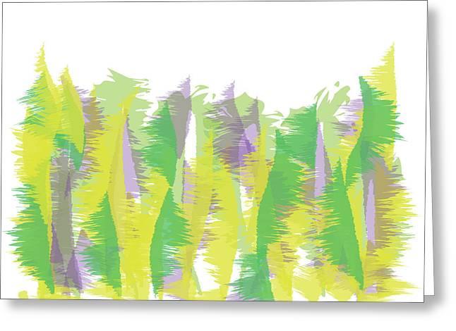 Nature - Abstract Greeting Card