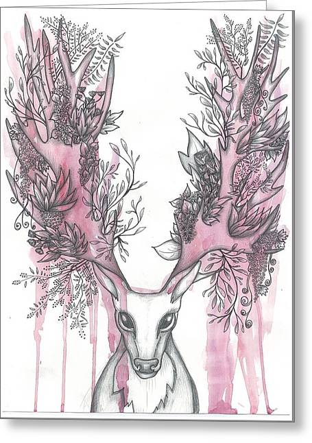 Nature Greeting Card by Anna Troian