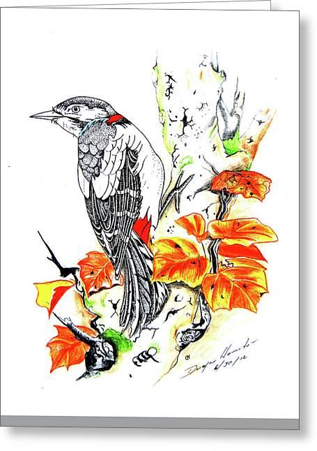 Nature  Greeting Card by Dwayne  Hamilton
