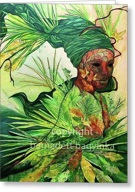Nature Element Greeting Card