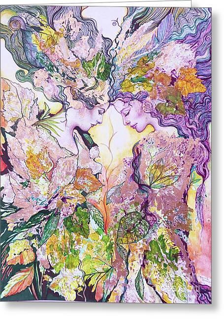 Nature Fairies Greeting Card