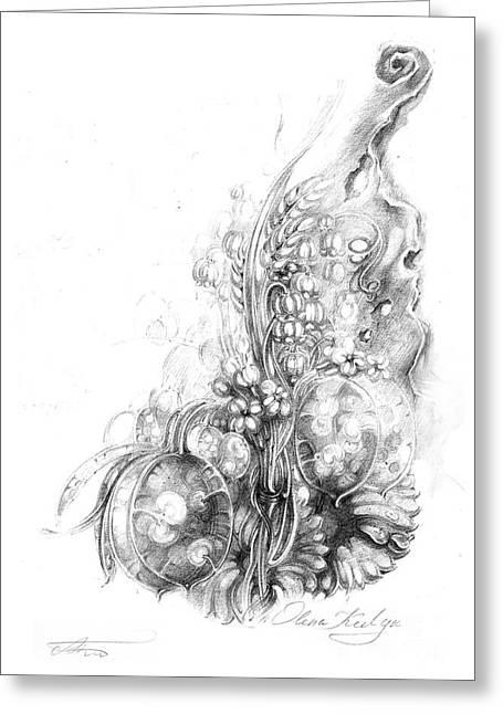 Nature Inspiration Greeting Card by Olena Kulyk