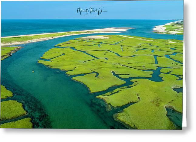Nature Kayaking Greeting Card