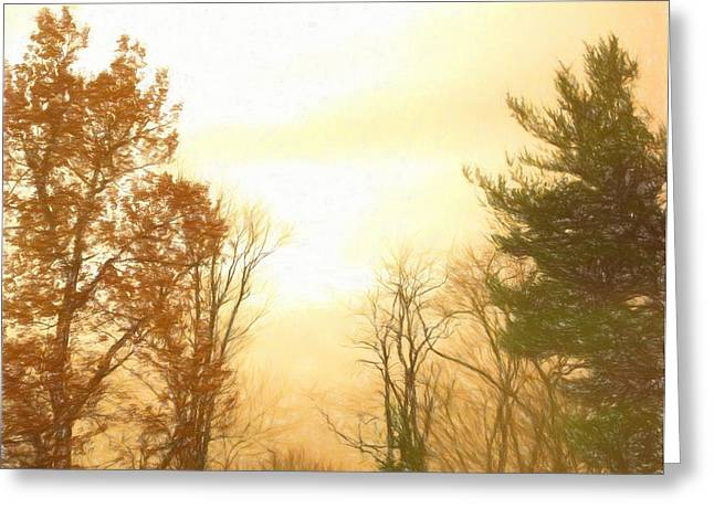 Nature Of The Earth Greeting Card by Debra Lynch