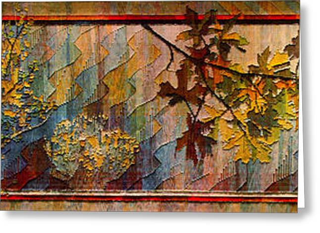 Greeting Card featuring the photograph Nature Tapestry 1997 by Padre Art