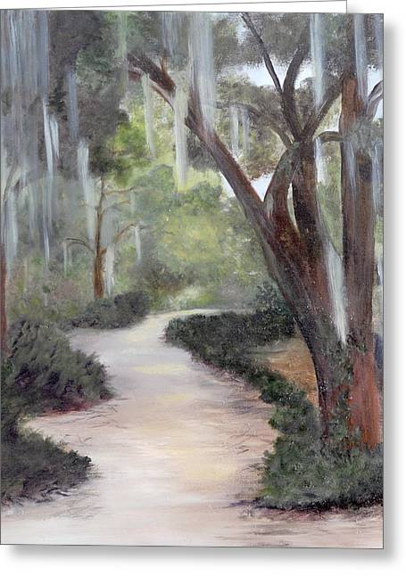 Nature Trail Greeting Card by Shirley Lawing