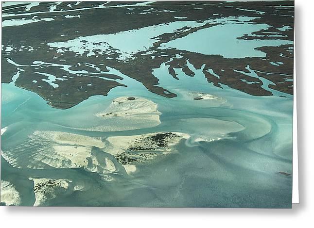 Natures Art On Barnegat Bay Greeting Card