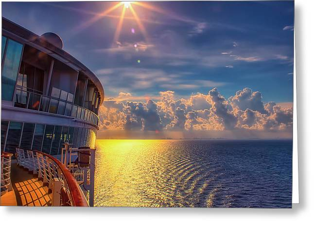 Natures Beauty At Sea Greeting Card