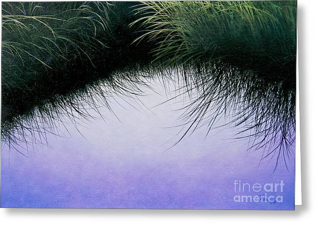 Nature's Eyelashes Greeting Card
