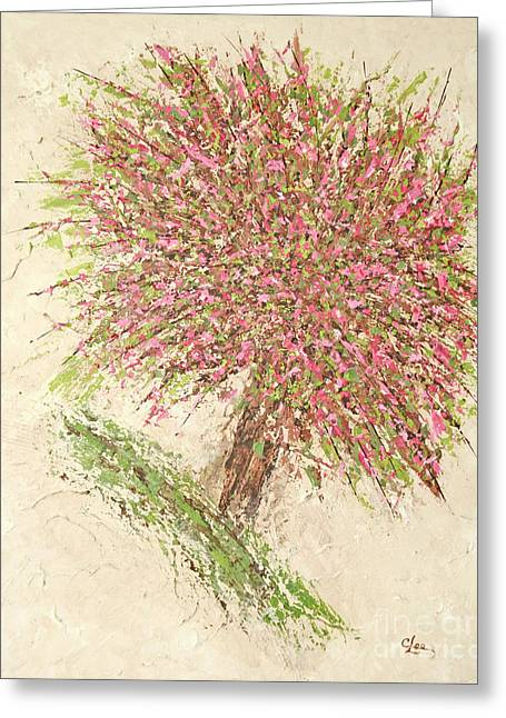 Nature's Fireworks Greeting Card