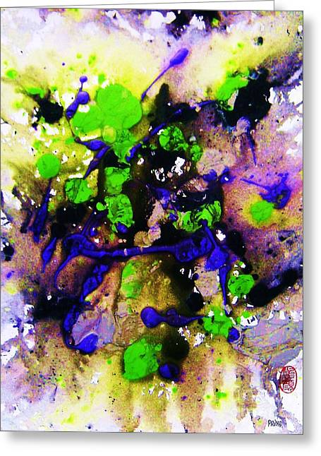 Greeting Card featuring the painting Natures Influence Spring by Roberto Prusso
