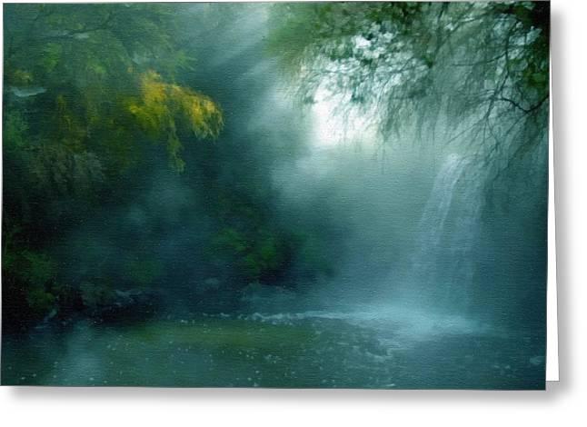 Nature's Mystique Greeting Card