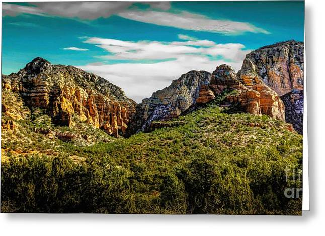 Natures Paintbrush Greeting Card by Jon Burch Photography