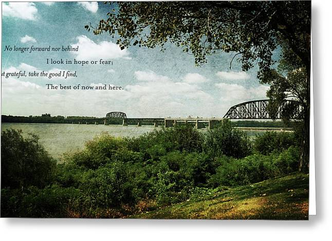 Natures Poetry Greeting Card by Amber Flowers