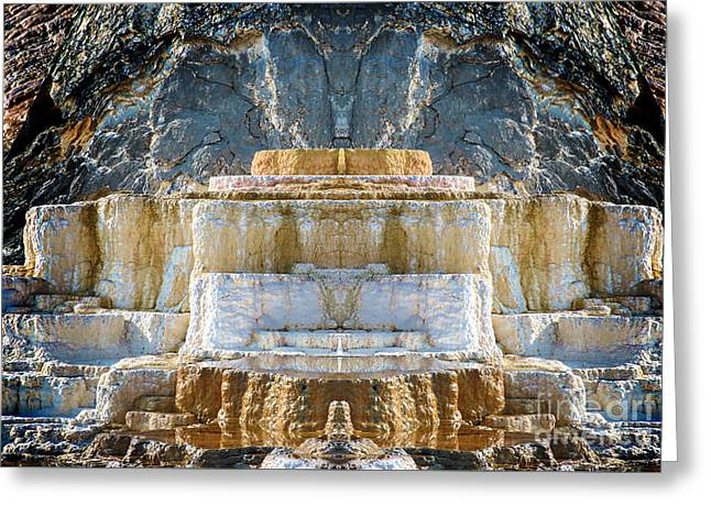 Greeting Card featuring the photograph The Throne by Robert Pearson