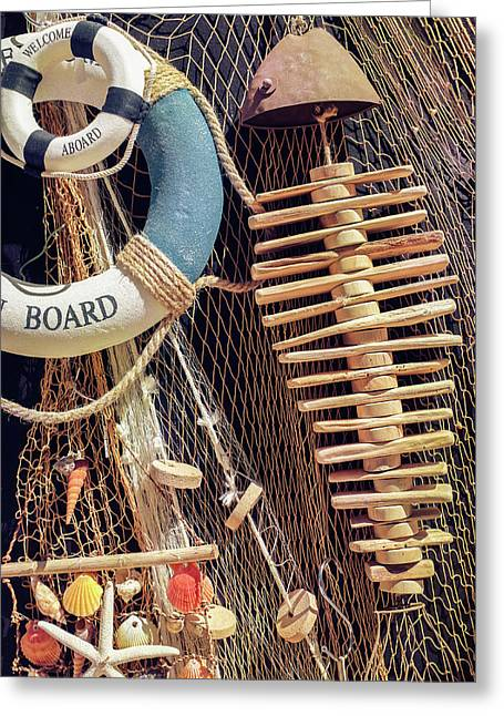 Nautical Handicraft Greeting Card
