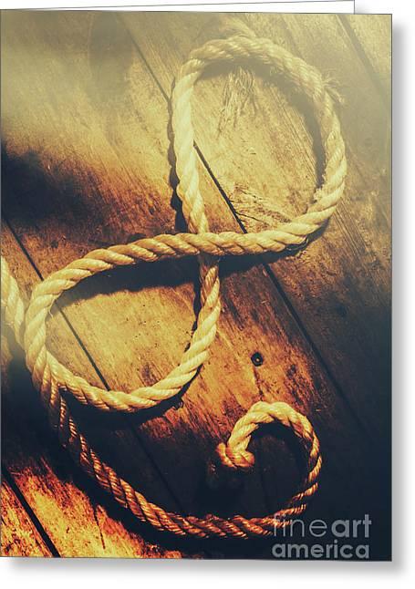 Nautical Infinity Greeting Card