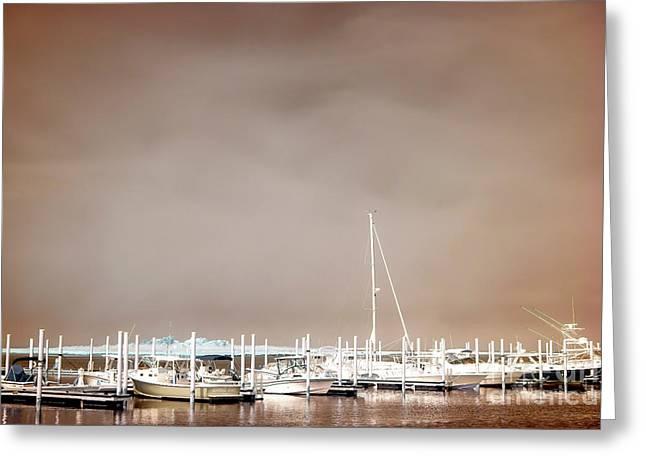 Greeting Card featuring the photograph Nautical Long Beach Island by John Rizzuto